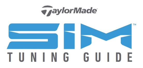 TaylorMade SIM Tuning Guide