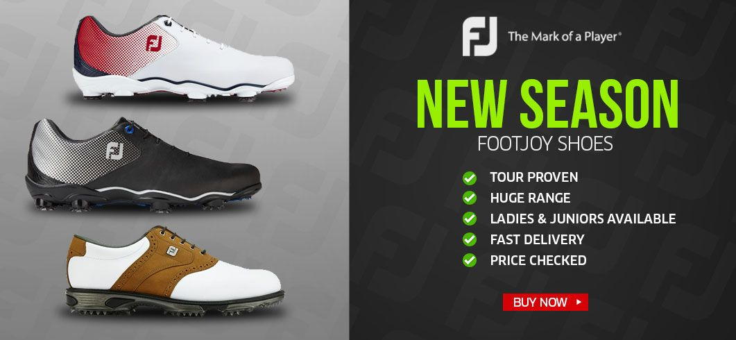 New Season FootJoy Shoes