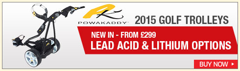 Powakaddy 2015 Golf Trolleys
