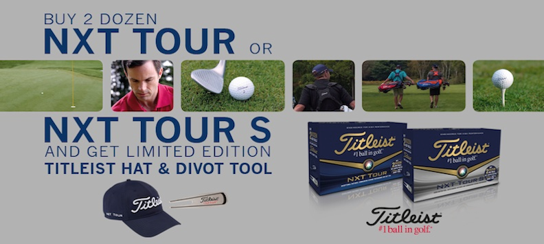 Titleist Cap and Divot Tool Ball Promotion
