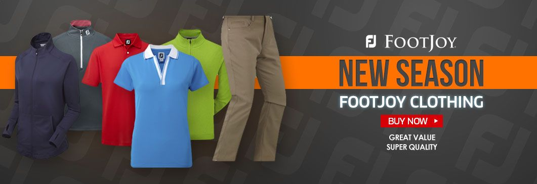 Footjoy New Season Clothing