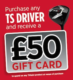 £50 Gift Voucher with Titleist Driver