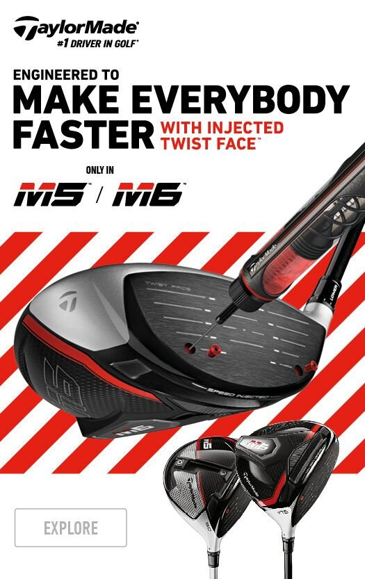 Latest TaylorMade M5 and M6 Drivers