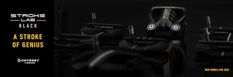 Odyssey Stroke Lab Black Golf Putter
