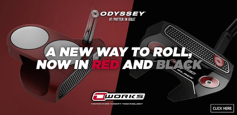Odyssey O works Red Putter