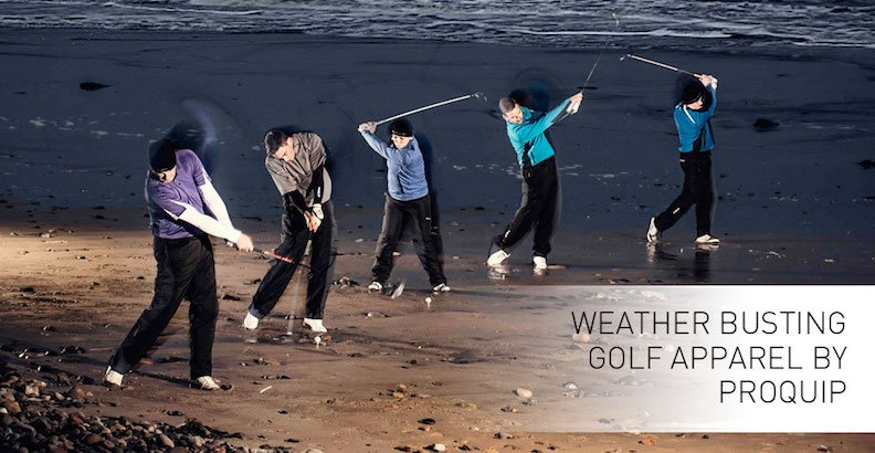 ProQuip Golf Clothing and Waterproofs