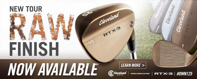 Cleveland RTX 3.0 RAW Wedge