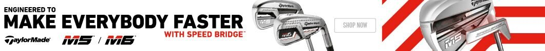 Latest TaylorMade M5 and M6 Irons