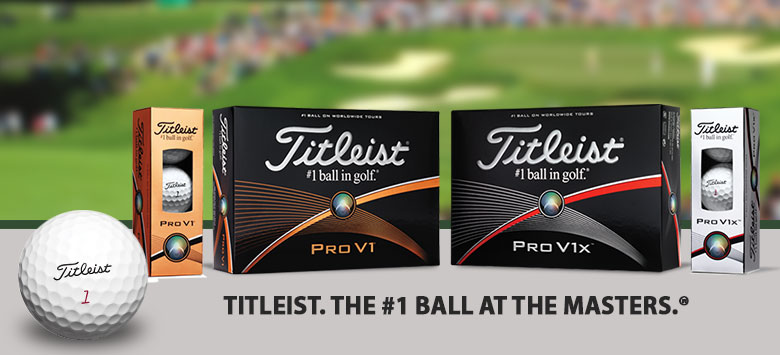 Titleist Pro V1 and Pro V1X 2015 Model