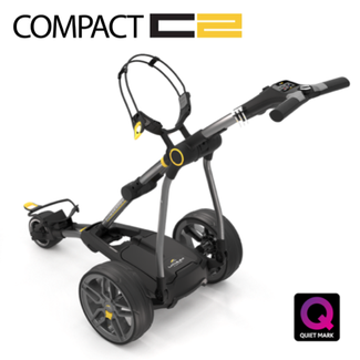 Powakaddy Compact C2 Electric Golf Trolley 18 Hole Lithium