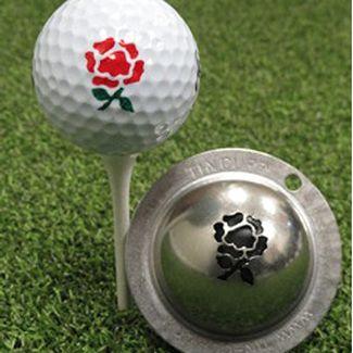 Tin Cup Golf Ball Marker Rose Sale