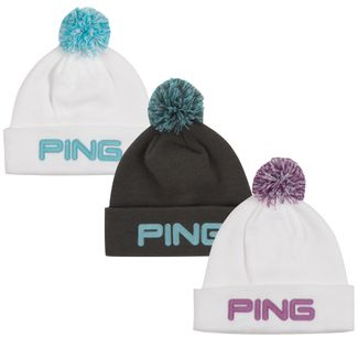 Ping Ladies Golf Bobble Beanie Hat NEW Only £13.49 f3c60707d25