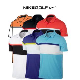 26cf36ef2 Nike Mobility Colour Block Mens Golf Polo 2017 (833103). Mobility Colour  Block