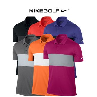 a8923c8c Nike Breathe Colour Block Mens Golf Polo 2017 (833067) SALE Only £14.95