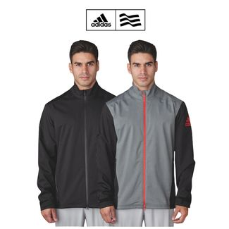Adidas Climaproof Heathered Rain Golf Jacket