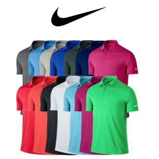6817b459 Nike Victory Solid Golf Polo (725518) - SALE Only £13.18