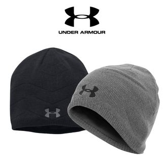 4c5b33b88725be Under Armour Men's Knit Reactor Beanie - 1298512 Only £12.50