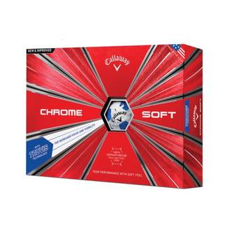 Callaway 2018 Chrome Soft Golf Balls with Truvis Technology