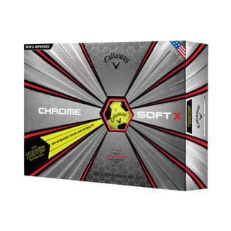Callaway Chrome Soft X Truvis - Yellow / Black