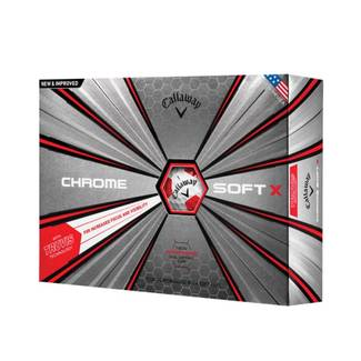 Callaway Chrome Soft X Truvis - Red