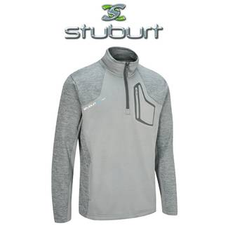 Stuburt Evolve Sport Half Zip Golf Fleece - Graphite