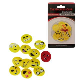 Brand Fusion Plastic Ball Markers with graphics