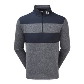 FootJoy Flat Back Rib and Woven Chill-Out Pullover