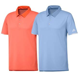 adidas Mens Climachill Core Heather Golf Polo Shirt - THE OPEN COLOURS