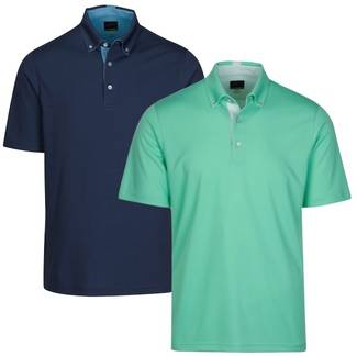 Greg Norman Mens Weatherknit Seaside Golf Polo - KX520