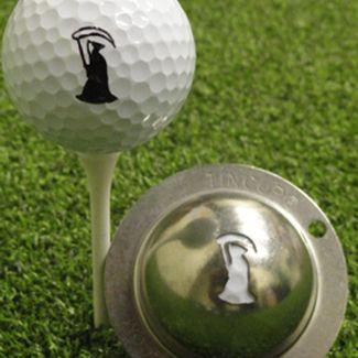 Tin Cup Golf Ball Marker Grim Reaper Sale