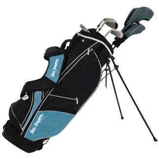Ben Sayers M8 6 Club Youth/Ladies Blue Stand Golf Package Set