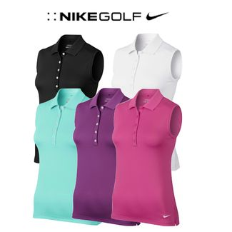 850f69fafbd2 Nike Ladies Victory Sleeveless Golf Polo (640371) SALE. Only £15.00