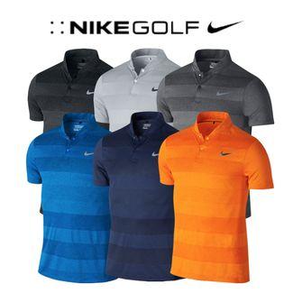 2930dda9d MM Fly Swing Knit Stripe Golf Polo. enlarge · Black/Reflective Silver ...