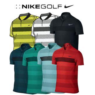 e71b62c58 MM Fly Swing Knit Stripe Alpha Golf Polo. enlarge · Black/Reflective Silver  ...