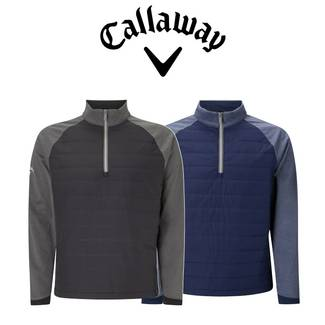 Callaway Mens Ultrasonic Quilted Technical Golf Pullover