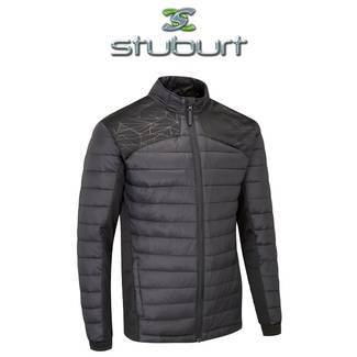 Stuburt Evolve Sport Padded Golf Jacket - Black