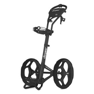 Clicgear 6.0 Resort Cart Golf Trolley - Charcoal/Black