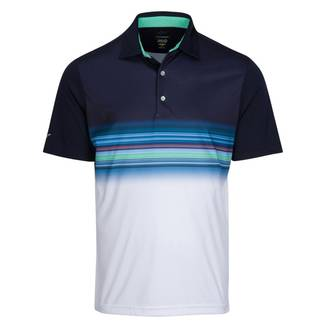 Greg Norman Mens Performance Surf Golf Polo