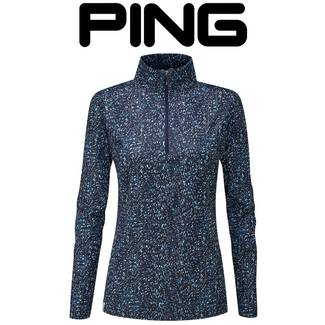 Ping Nova Ladies Long Sleeve Golf Pullover
