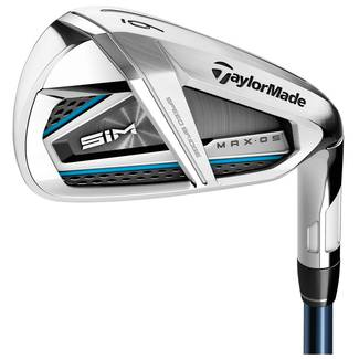 TaylorMade SIM MAX OS Steel Golf Irons