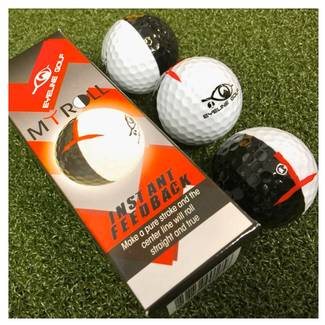 Eyeline Golf Myroll Training Balls