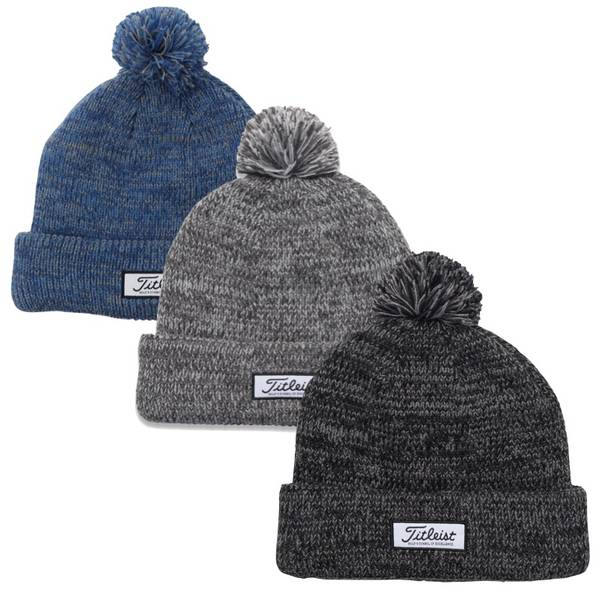 Titleist Lifestyle Heather Pom Pom Beanie