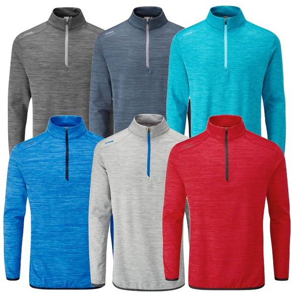 Ping Mens Edison 1/2 Golf Sweater