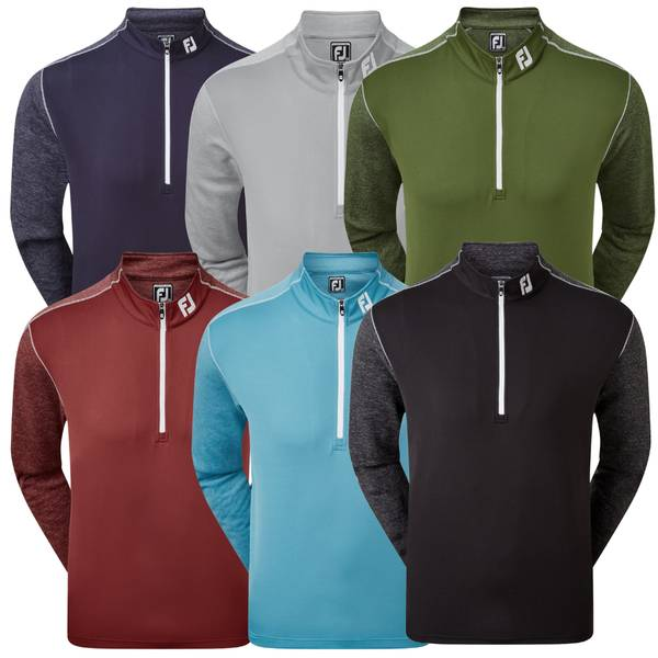 FootJoy Mens Tonal Heather Golf Chill Out