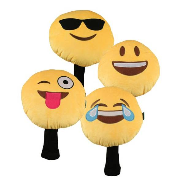 Novelty Headcover - Emoticon