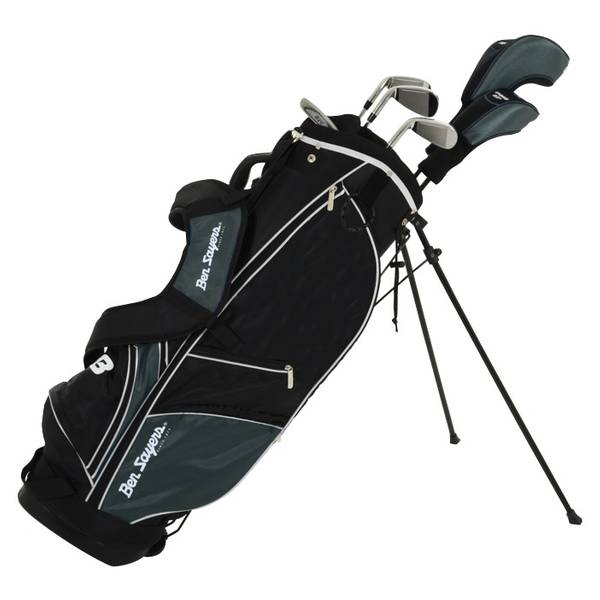 Ben Sayers M8 6 Club Golf Black Stand Package Set