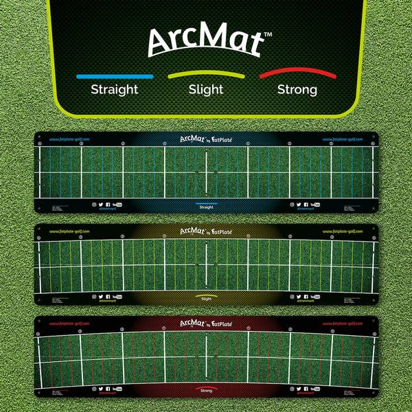 FatPlate ArcMat Golf Path Trainer