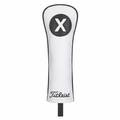 Titleist Leather White Deluxe Hybrid Headcover