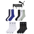 Puma Sport Crew Golf Socks 3 PACK 2015