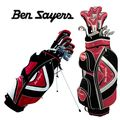 Ben Sayers M15 Red Package Golf Set